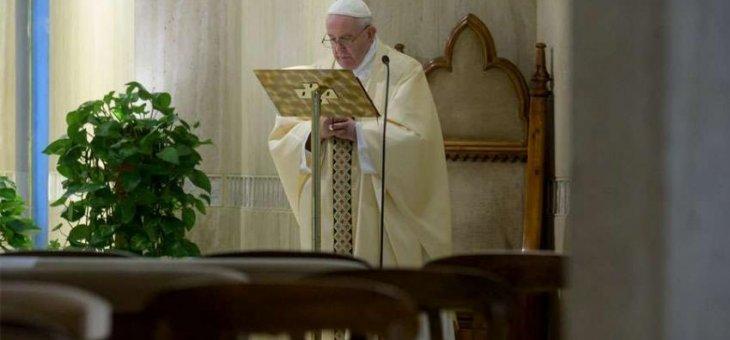 El Papa: Dios nos dé prudencia al salir de la cuarentena